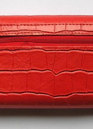 Кожаный кошелек крокодил + картхолдер , 100% натуральная кожа, есть доставка бесплатно2 фото