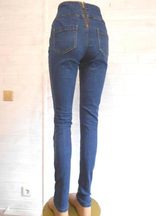Красивые и высокие джинсы  m\l