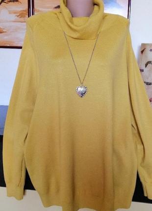 Классный фирменный свитер.  56-58р
