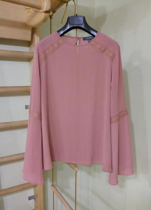 Красивая блуза с длинными рукавами 12