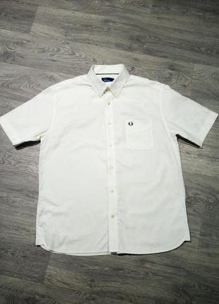 Рубашка на короткий рукав fred perry