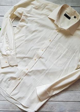 Стильная мужская базовая рубашка  от bhs easy care