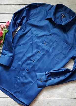 Стильная яркая мужская  рубашка  от george