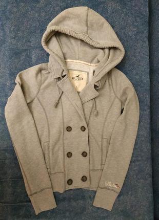 Hollister худи кардиган пиджак с капюшоном р.s