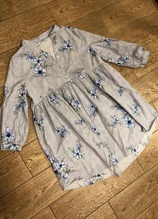 Хлопковое летнее платье