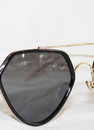 Очки. очки геометрической формы. капли. солнцезащитные очки. s1951