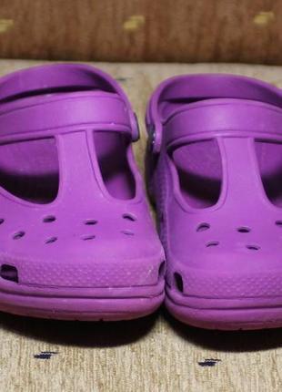 Кроксы crocs размер 32-32.5