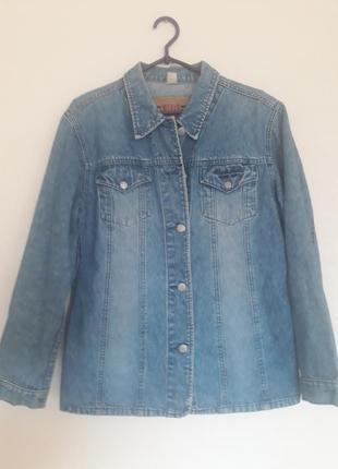 Курточка джинсовая, джинсовый пиджак