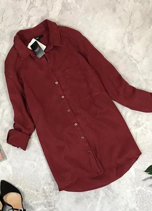 Стильная блуза насыщенного цвета  bl1923006 next