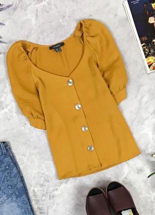 Оригинальная блуза на пуговицах с цельнокроенными рукавами  bl1923026 primark