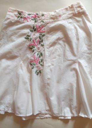 Летняя нарядная юбочка