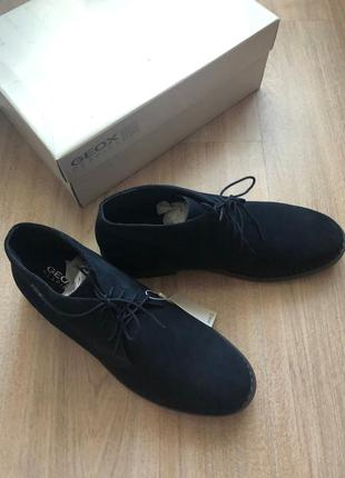 Стильные демисезонные ботинки geox 44 размер1 фото
