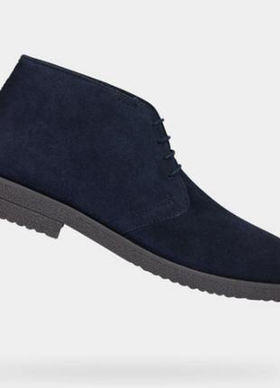 Стильные демисезонные ботинки geox 44 размер3 фото