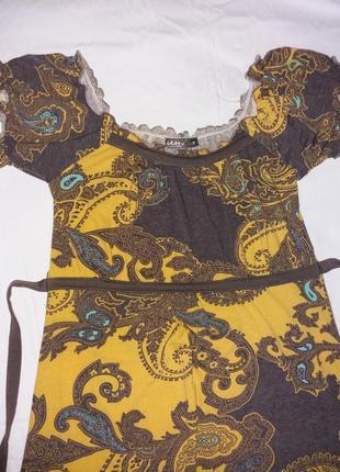 Платье летнее трикотажное1 фото