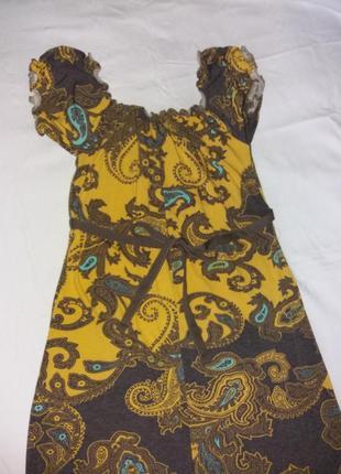 Платье летнее трикотажное3 фото