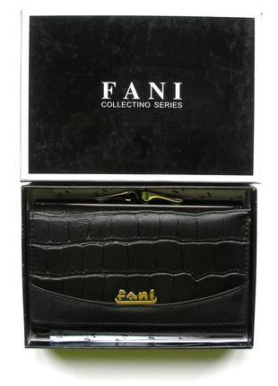 e9f537b9c661 Кожаный кошелек портмоне крокодил fani, 100% натуральная кожа, есть  доставка бесплатно
