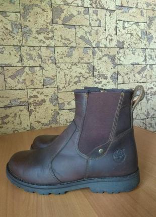 Ботинки челси кожа timberland - 33р.