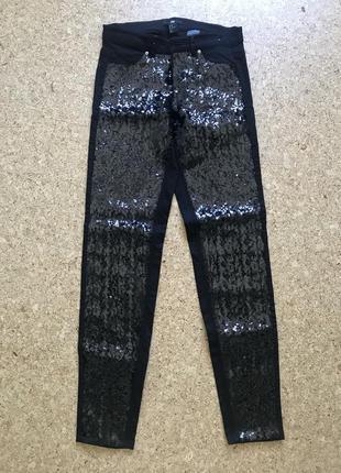 Невероятно красивые джинсы паетки h&m