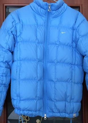 Осеняя, весенняя, зимняя куртка, пуховик от nike оригинал1