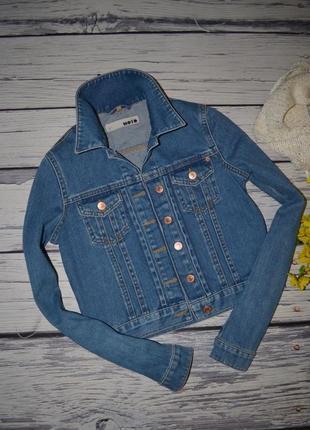 8/36/s обалденный фирменный джинсовый пиджак курточка topshop топшоп4 фото