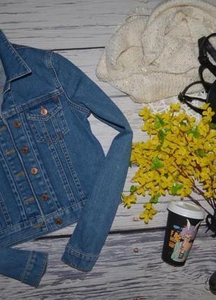 8/36/s обалденный фирменный джинсовый пиджак курточка topshop топшоп2 фото