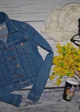8/36/s обалденный фирменный джинсовый пиджак курточка topshop топшоп6 фото