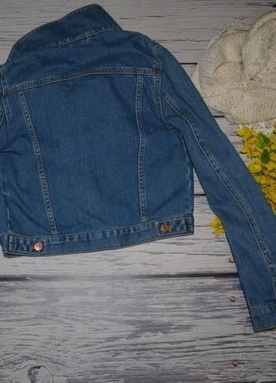 8/36/s обалденный фирменный джинсовый пиджак курточка topshop топшоп9 фото