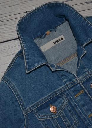 8/36/s обалденный фирменный джинсовый пиджак курточка topshop топшоп7 фото