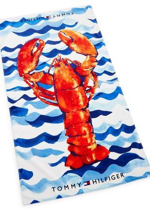 Большие пляжные полотенца tommy hilfiger. оригинал.