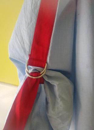 Рубашка с яркими лентами лампасами zara5 фото