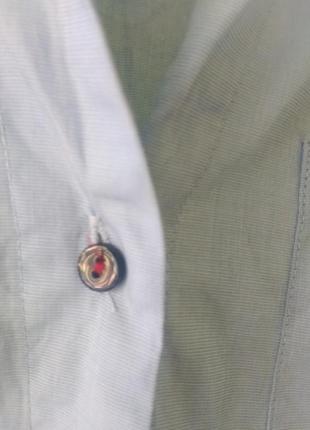 Рубашка с яркими лентами лампасами zara7 фото