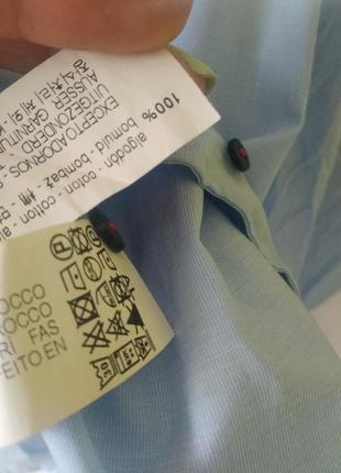 Рубашка с яркими лентами лампасами zara8 фото