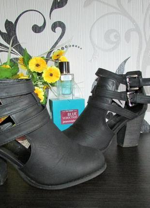Модные ботиночки из кожзама