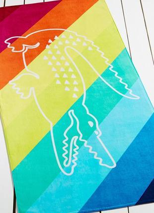 Большие пляжные полотенца lacoste. оригинал из сша