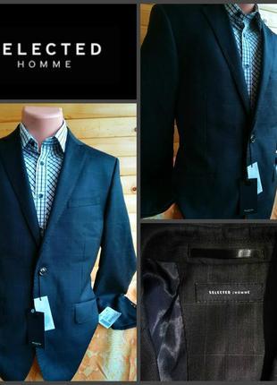 Классический пиджак от датской компании selected homme, оригинал, новый с биркой