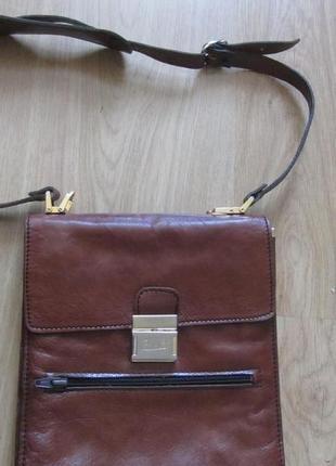Мужская кожаная сумка - планшет ca - gi.