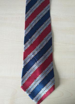 Luca franzini  vintage шелковый галстук