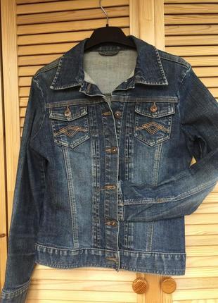 Оригинальная базовая синяя джинсовая куртка джинсовка cherokee