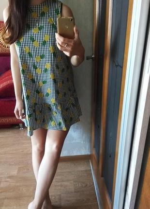 Супер платье в ананасик оlko