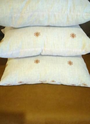 Комплект подушек антиаллергенные 40см ×60 см. 3шт.
