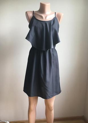 Легкий сарафан из тонкой ткани под шелк, размер s