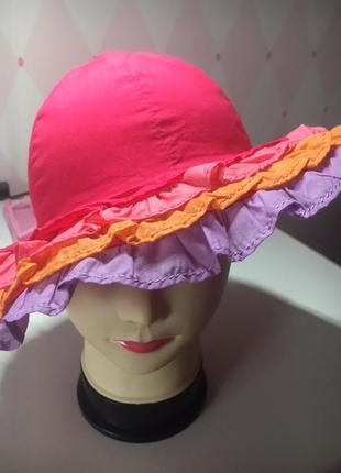 Шляпа,панама от gymboree на 5-7 лет на объем головы 49-52 см