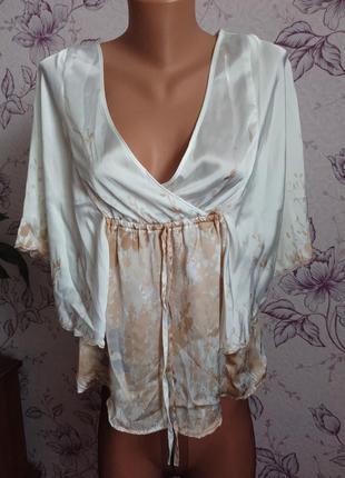 Роскошная блуза летучая мышь