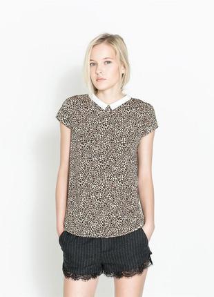 Трендовая блуза zara