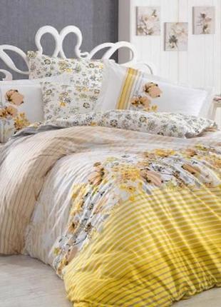 Комплект постельного белья hobby poplin fiesta 200х220