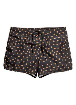 Спортивные шорты плавательные пляжные шорты h&m