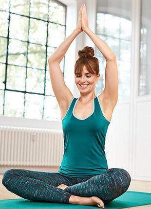 Tcm tchibo новая спортивная майка#топ#футболка для спорта#йоги#фитнеса.
