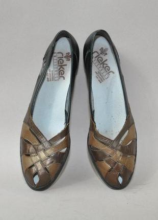 Летние туфли rieker