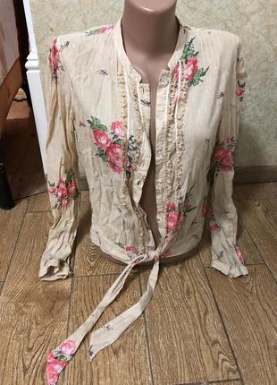 Чудесная легкая блузка