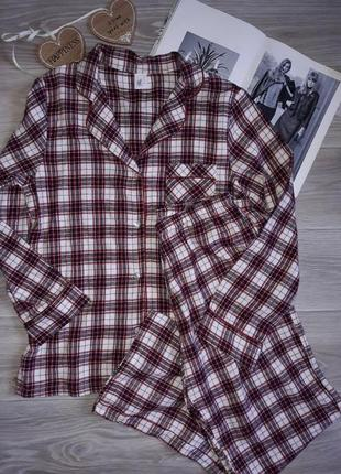 Шикарная пижамка . сток р 10 тонкая байка.tu